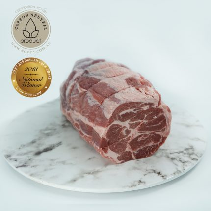 Borrowdale Free Range Pork Collar Butt Whole Rolled Front