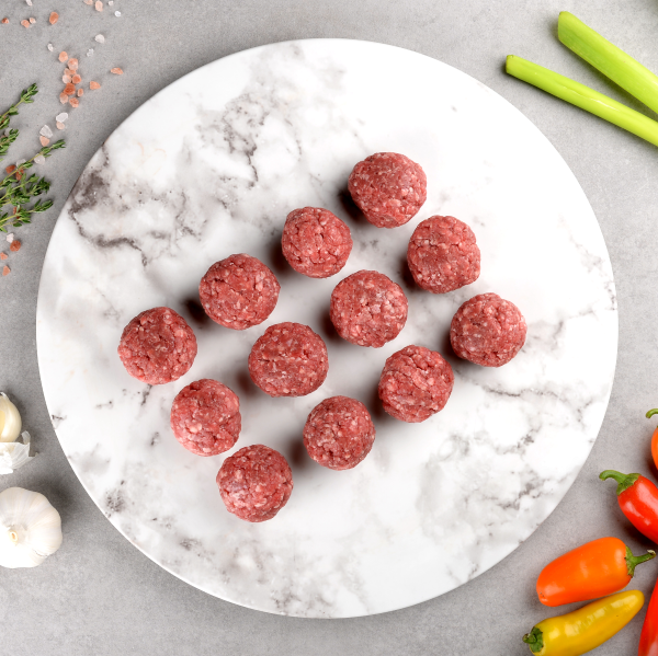 Organic Hereford Beef Meatball