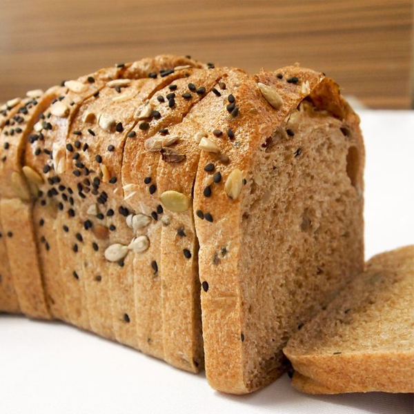 Organic Wholemeal Bread with 3 Seeds