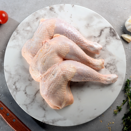 Premium Chicken Whole Leg (Bone In Skin On)