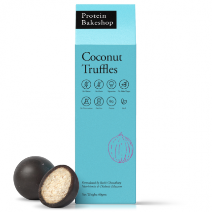 Protein Bakeshop Coconut Truffles