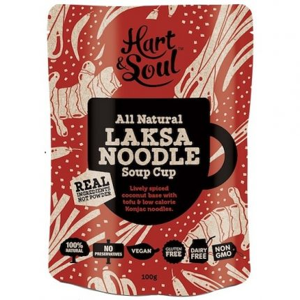 Hart & Soul All Natural Laksa Noodle Soup Sachet