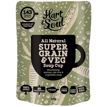 Hart & Soul All Natural Super Grain and Vegetable Soup Sachet