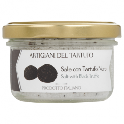 Artigiani Del Tartufo Salt With Black Truffle
