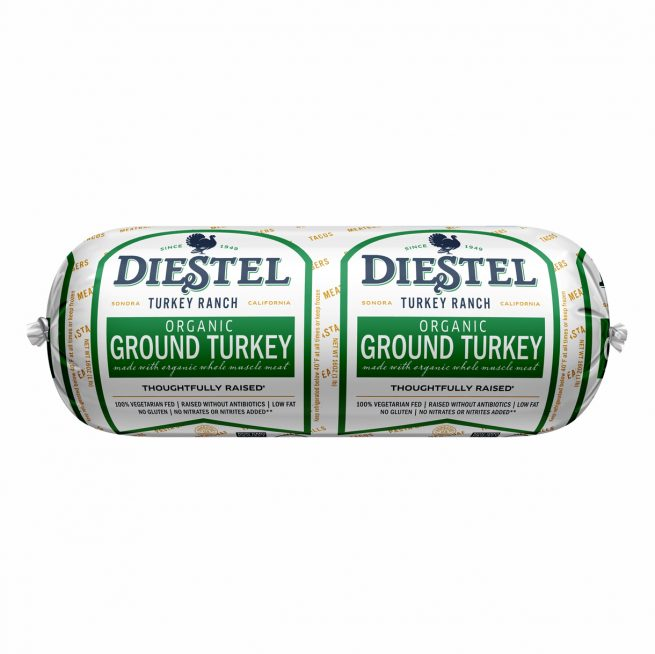 ~Diestel Organic Dark Ground Turkey (Frozen)
