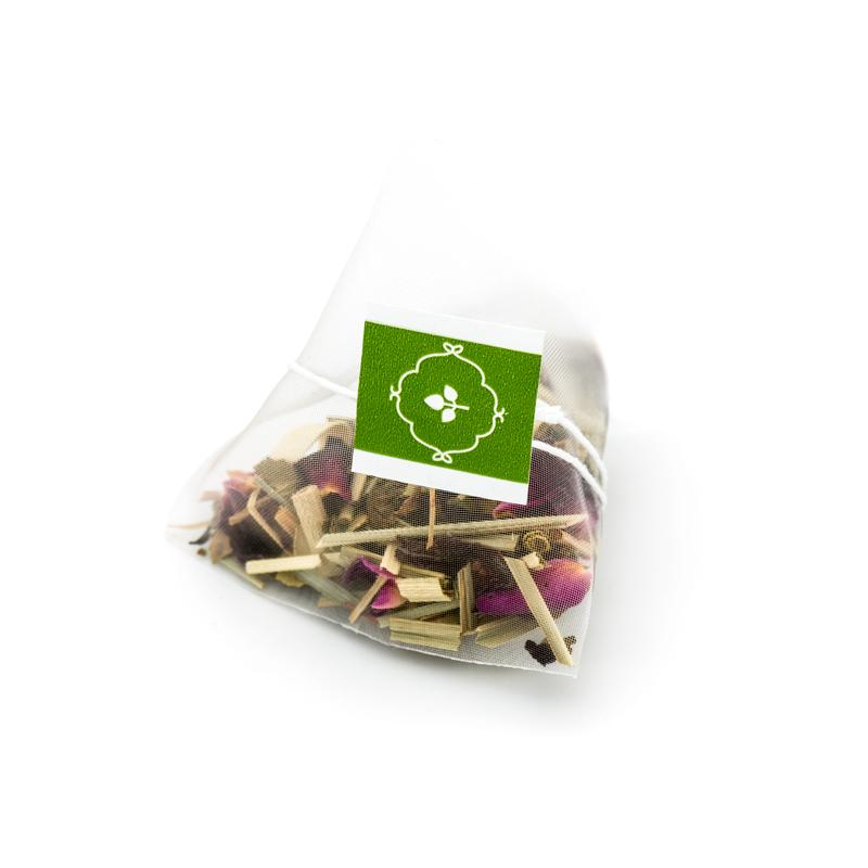 Limonada Rosa Herbal Infusion Tea - Pyramid Infusers (Box)