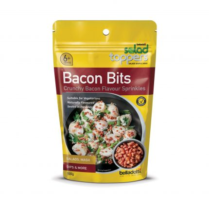 Belladotti Salad Toppers Bacon Bits Crunchy Bacon Flavour Sprinkles