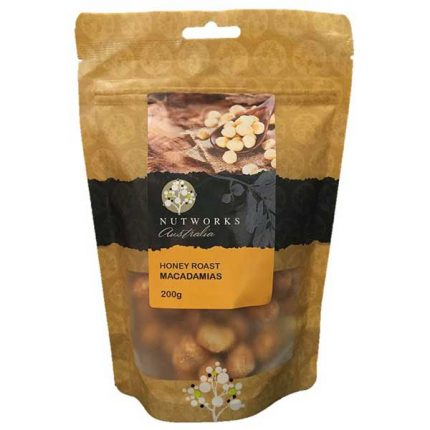 Nutworks Honey Roast Macadamias 200g