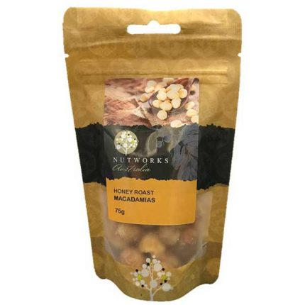 Nutworks Honey Roast Macadamias 75g