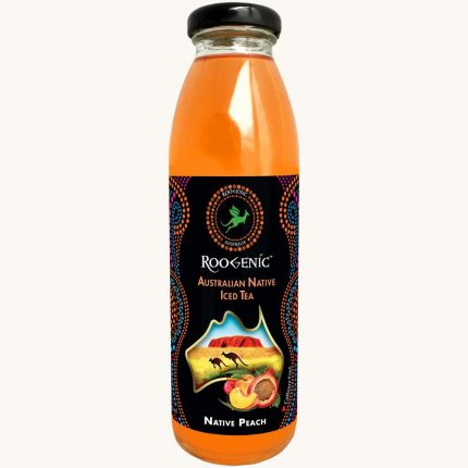 Roogenic Native Peach (Super Booster) Iced Tea 350ml