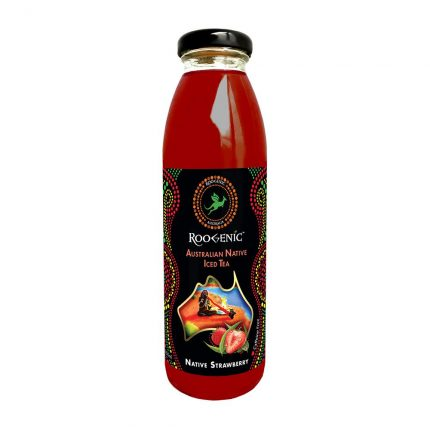Roogenic Native Strawberry Iced Tea 350ml