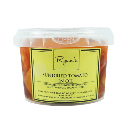 Ryan's Sundried Tomatoes in Herb Oil 150g