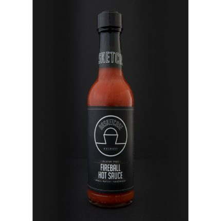 Basket Case - Fireball Hot Sauce 250ml Front