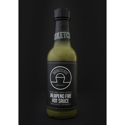 Basket Case - Jalapeno Fire Hot Sauce 250ml Front