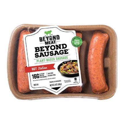 Beyond Meat Sausage Hot Italian 400g Front