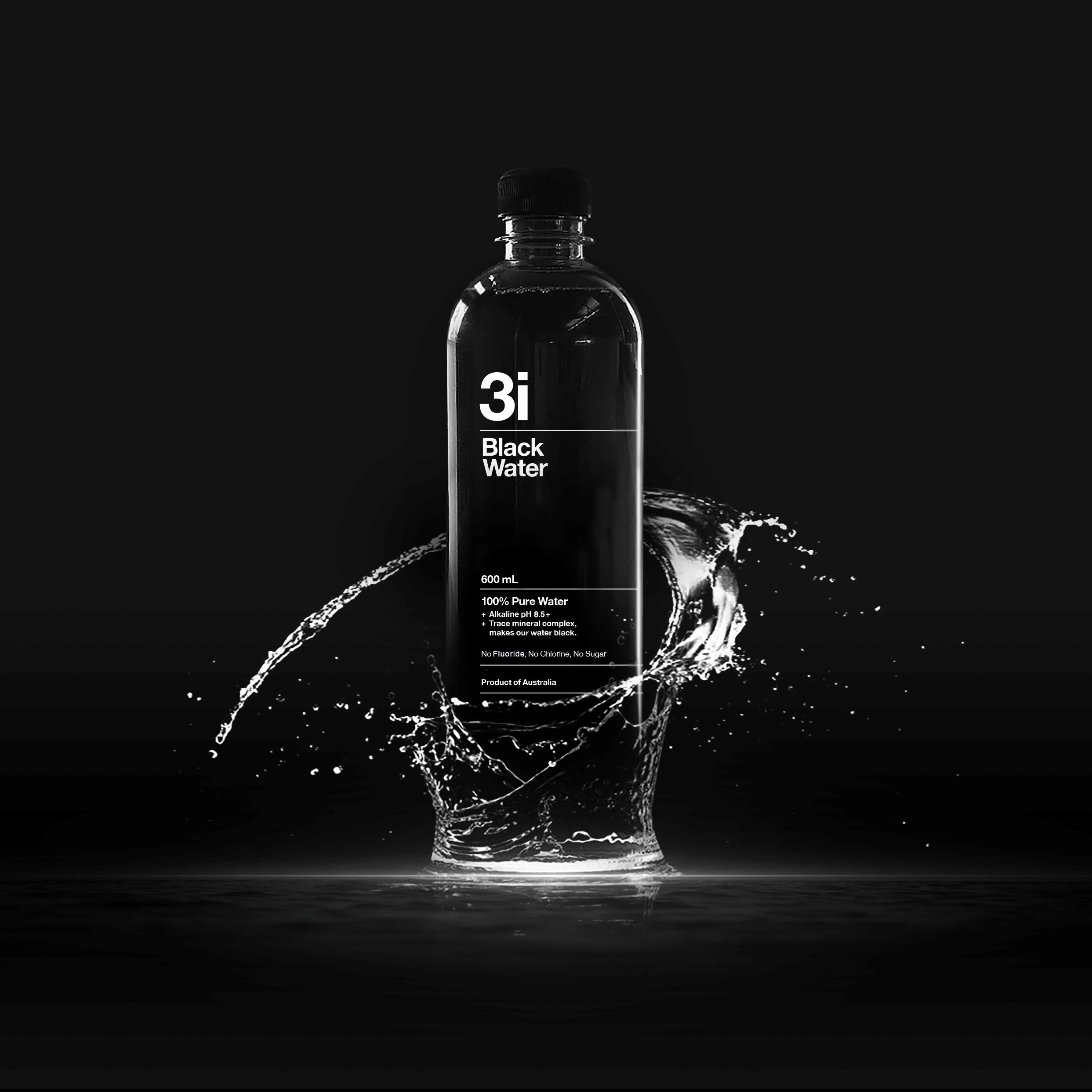 Black Water Fulvic Trace Mineral Beverage
