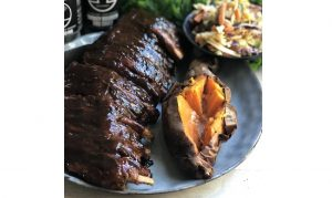 Smokey Bourbon BBQ Ribs