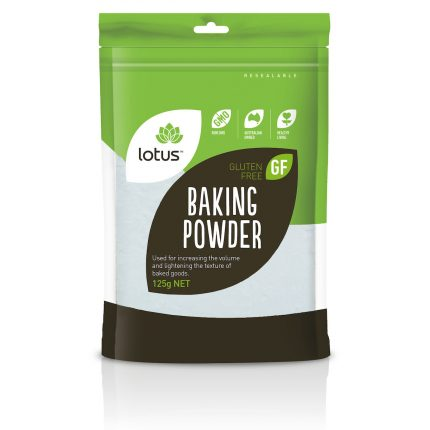 Lotus Gluten Free Baking Powder 125g