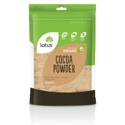 Lotus Organic Cocoa Powder 250g