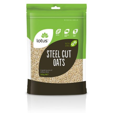 Lotus Steel Cut Oat 500g