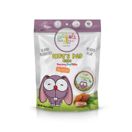Mother Nature Kid'y Pads - Date 150g Front