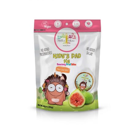 Mother Nature Kid'y Pads - Fig 150g Front