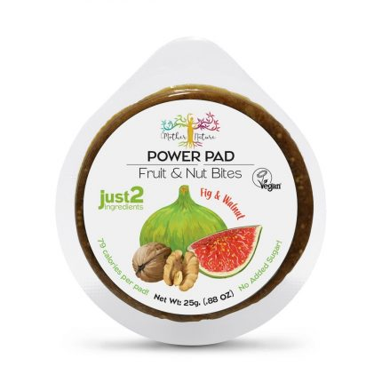 Mother Nature Power Pads - Fig & Walnut 25g Front