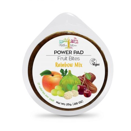 Mother Nature Power Pads - Rainbow Mix 25g Front