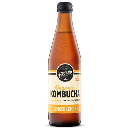 Remedy Kombucha - Ginger Lemon (330ml)