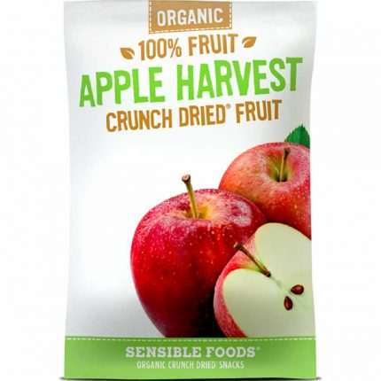 All Natural 100% Apple Harvest Crunch Dried Fruit 9g Front
