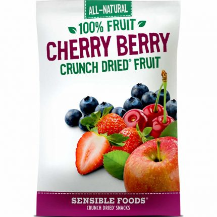 All Natural 100% Cherry Berry Crunch Dried Fruit 10g Front