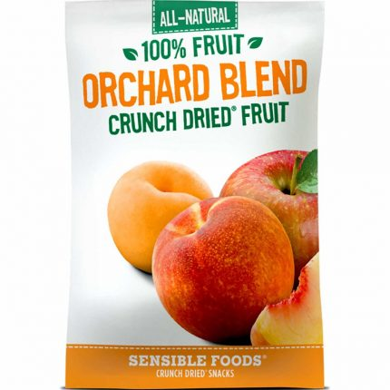 All Natural 100% Orchard Blend Crunch Dried Fruit 9g Front