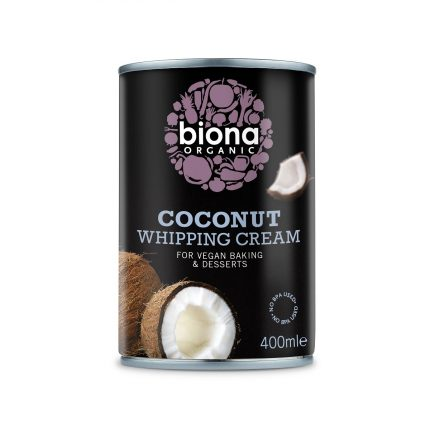 Biona Organic Coconut Whipping Cream 400ml Front