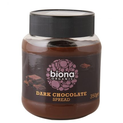 Biona Organic Dark Chocolate Spread Front