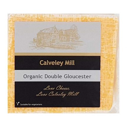 Calveley Mill Organic Double Gloucester Cheese 200g