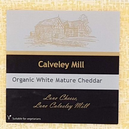 Calveley Mill Organic White Mature Cheddar 200g