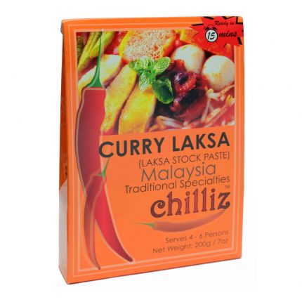 Chilliz Curry Laksa Paste 200g