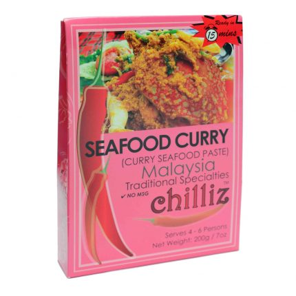 Chilliz Seafood Curry Paste 200g