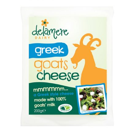 Delamere Dairy Greek Goat Cheese Front