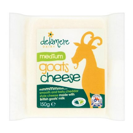 Delamere Dairy Medium Hard Goats Cheese 150g