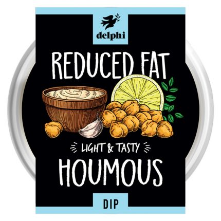 Delphi Food Low Fat Houmous Dip Front