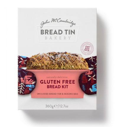 McCambridge Bread Tin Bakery Gluten Free Bread Kit Front