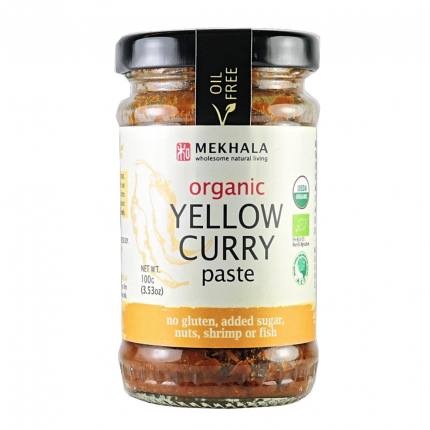 Mekhala Organic Yellow Curry Paste 100g