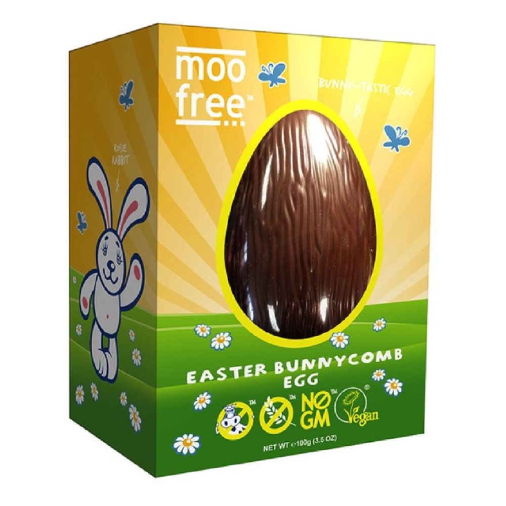Moo Free Bunnycomb Egg Front