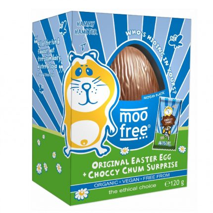 Moo Free Organic Easter Egg Front