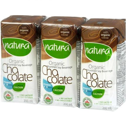 Natur-A Enriched Soy Beverage - Chocolate (Organic) Front