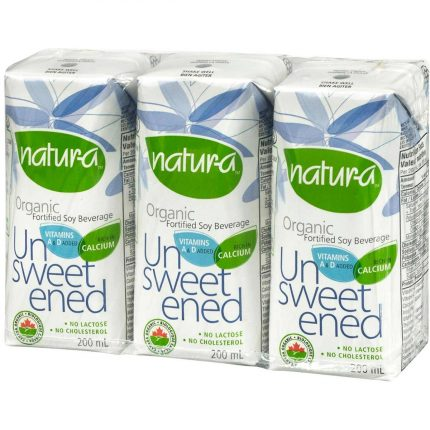 Natur-A Enriched Soy Beverage - Unsweetened (Organic) Front