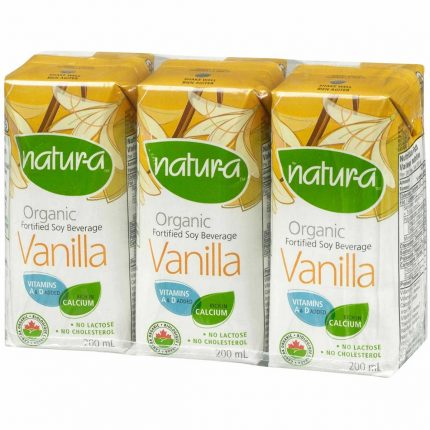Natur-A Enriched Soy Beverage - Vanilla (Organic) Front