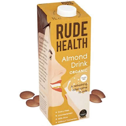 Rude Health Organic Dairy Free Drink Almond 1L Front