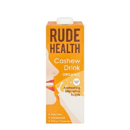 Rude Health Organic Dairy Free Drink Cashew 1L Front